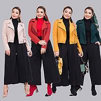 Женский стильный костюм двойка (короткий пиджак и кюлоты) /разные цвета, 42-62, ST-56953/