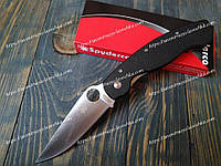 Нож складной PA60-BK Spyderco military Фирменный Black