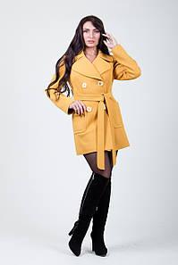 Пальто S-218 Желтый