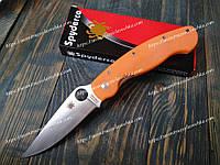 Нож складной PA60-OG Spyderco Orange Фирменный