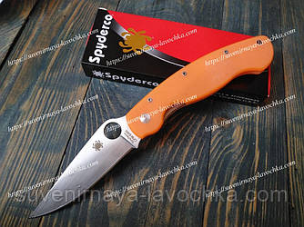 Нож складной PA60-OG Spyder Orange Фирменный