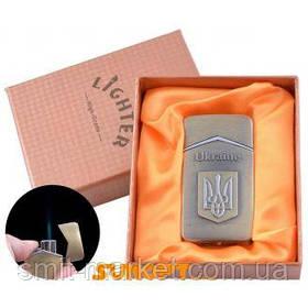 Зажигалка в подарочной упаковке Герб Украины №UA-10