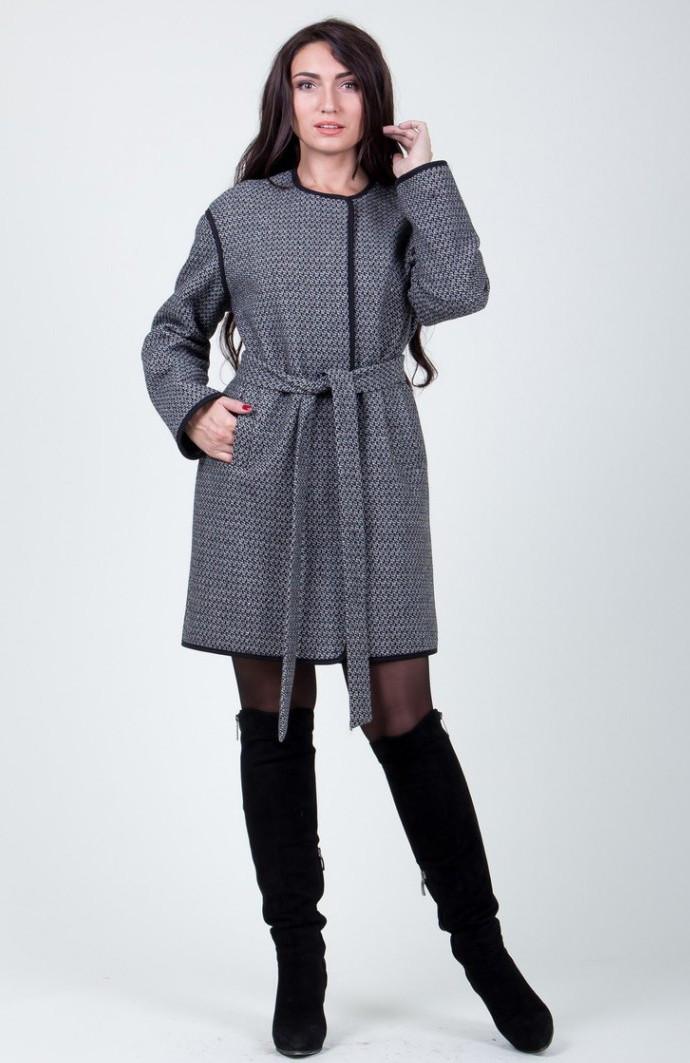 Пальто 2-408 Серый