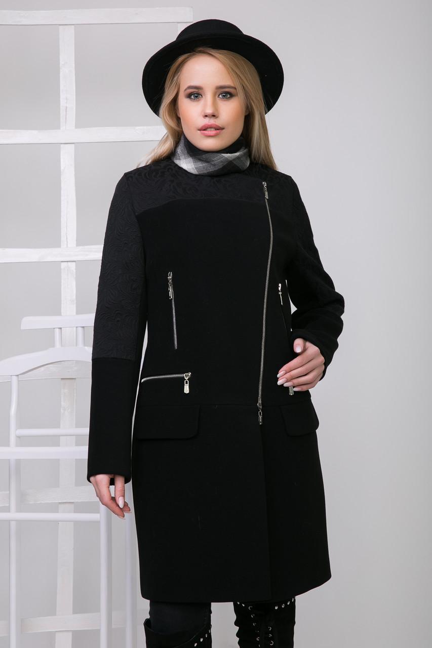 Пальто S-229 Черный