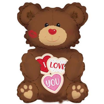 """CTI 36"""" Мишка печенька """"Я люблю тебя"""""""