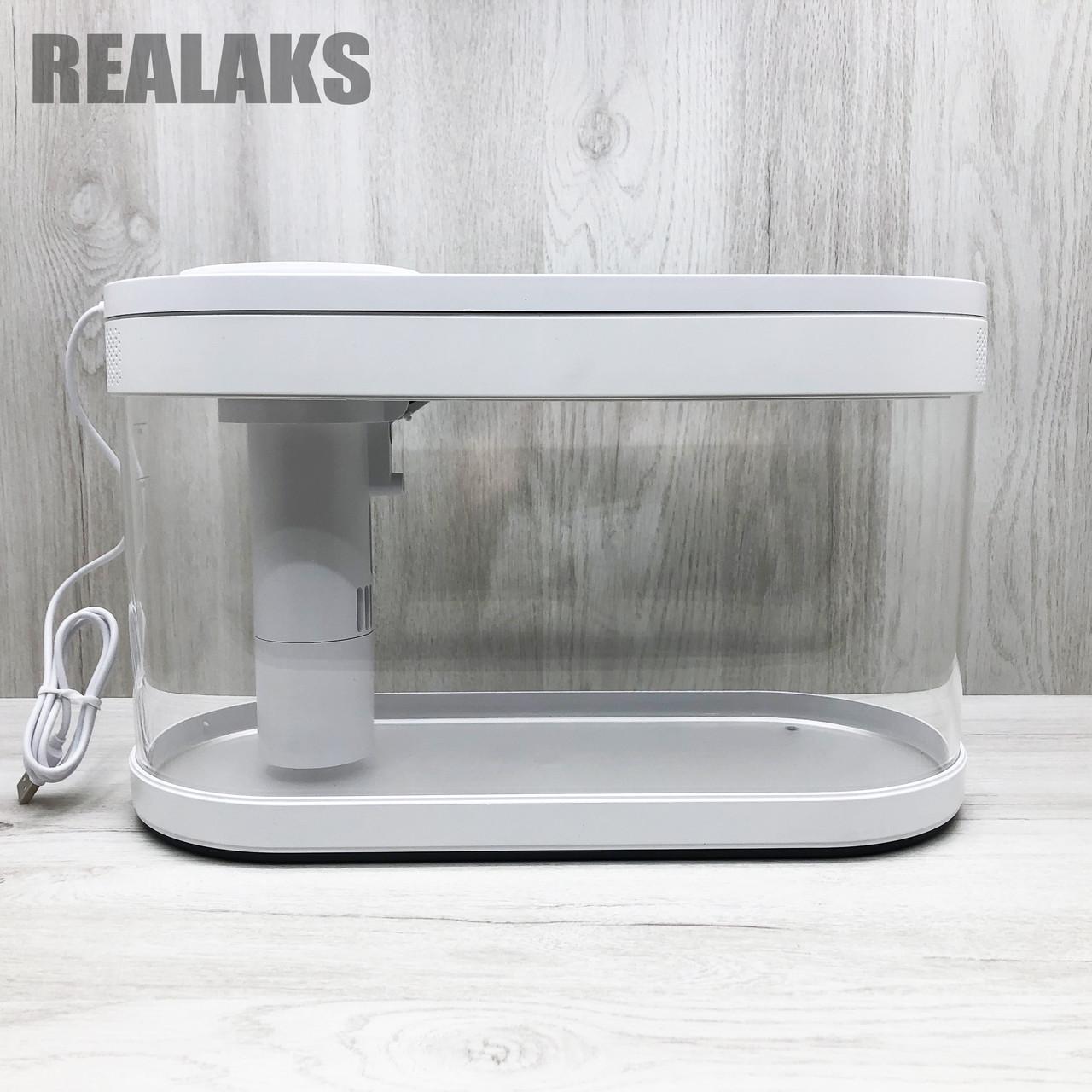 Аквариум Xiaomi Geometry Fish Tank Aquaponics Ecosystem 10 л White