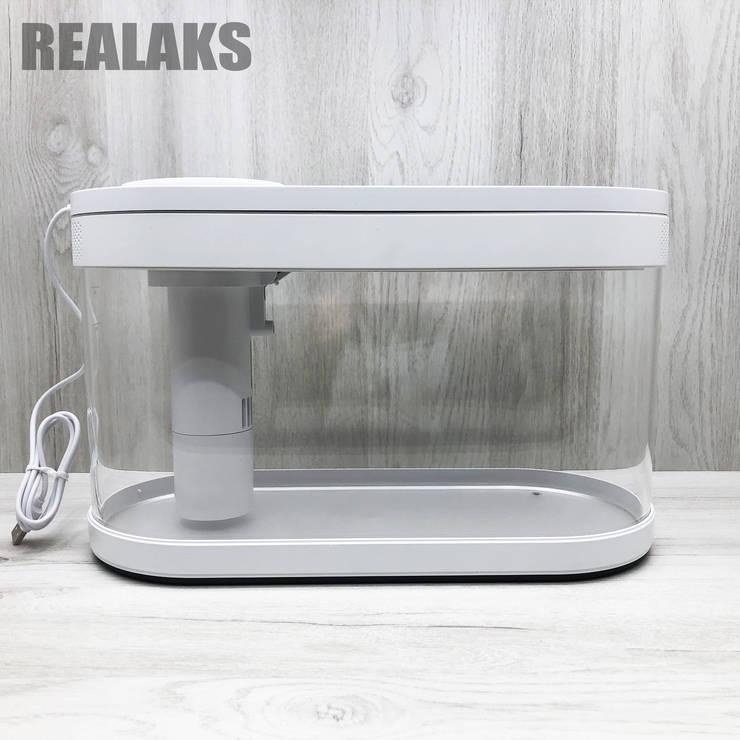Аквариум Xiaomi Geometry Fish Tank Aquaponics Ecosystem 10 л White, фото 2