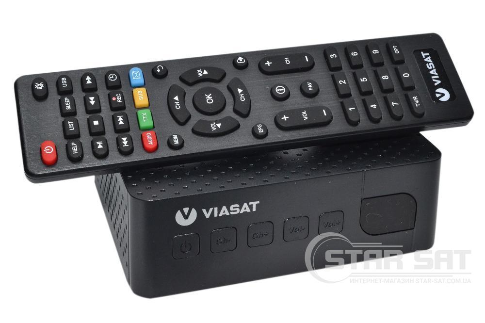 Спутниковый ТВ-ресивер Romsat S2 TV VIASAT