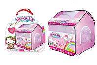 Детская палатка для девочки Hello Kitty