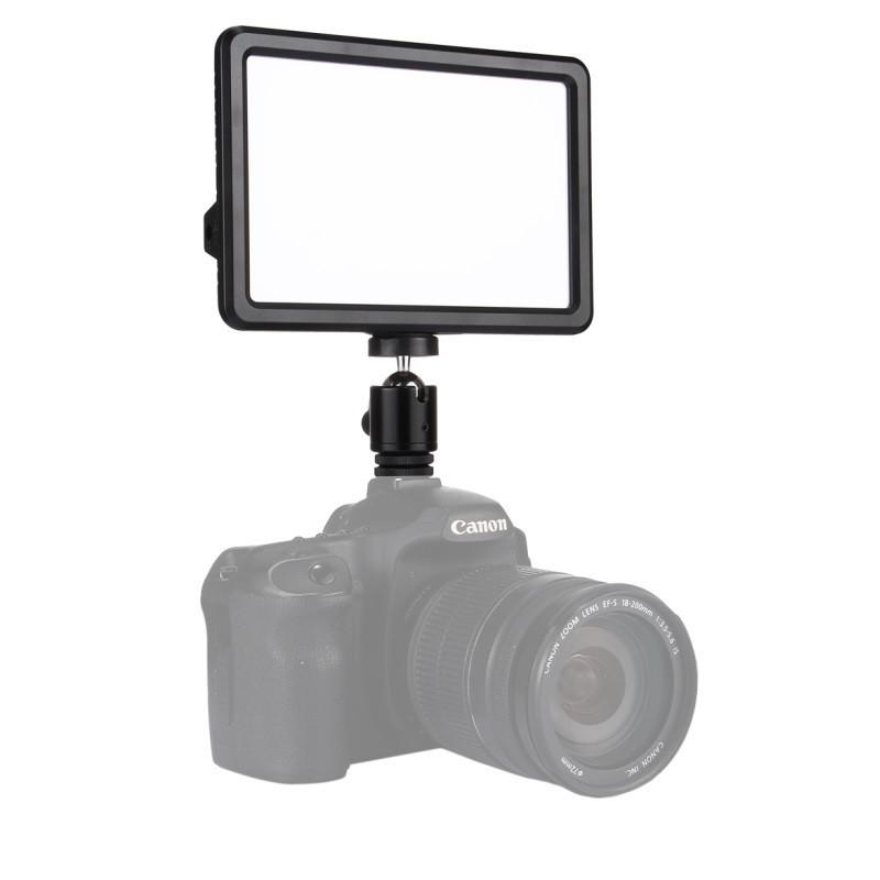 17,5x16,1x3см Светодиодный свет - панель на камеру / стойку Puluz PU4104E Led Energy Kit