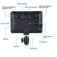 17,5x16,1x3см Светодиодный свет - панель на камеру / стойку Puluz PU4104E Led Energy Kit, фото 5