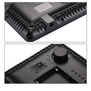 17,5x16,1x3см Светодиодный свет - панель на камеру / стойку Puluz PU4104E Led Energy Kit, фото 8