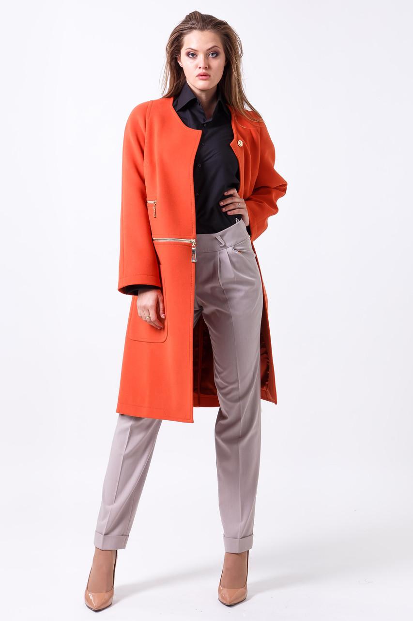 Пальто 2-453/9 Апельсин