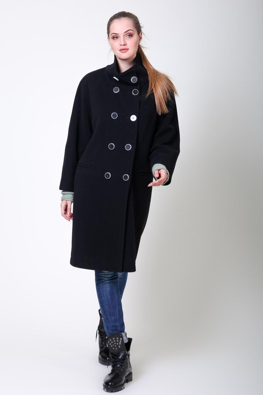 Пальто S-2020 Черный