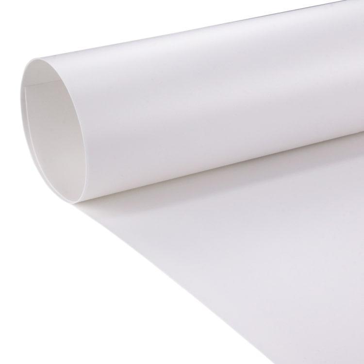 70x130см белый ПВХ Фон для съёмки Visico PVC-7013 White