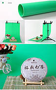 70x130см зеленый ПВХ Фон для съёмки Visico PVC-7013 Green, фото 6