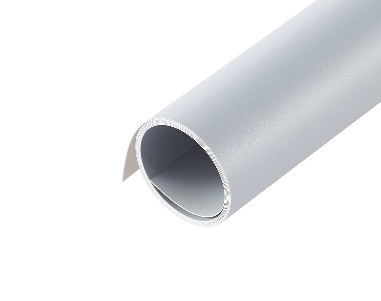 70x130см серый ПВХ Фон для съёмки Visico PVC-7013 Grey