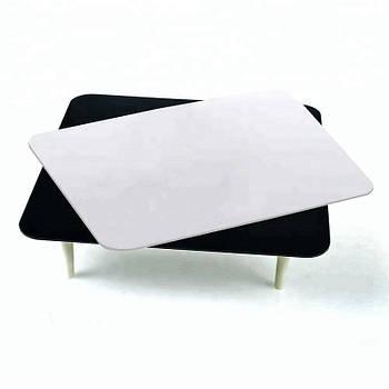 30х30см Стол для предметной съёмки Visico PT-0303 black/white
