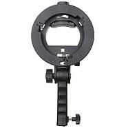 Держатель для вспышек AccPro S-Type bracket with handle, фото 6
