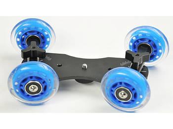 Візок операторська AccPro ST-07 Dolly Kit Skater blue