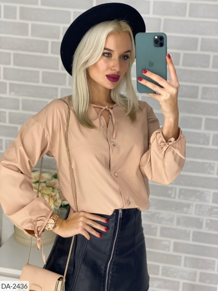 Блузка сильная рубашка женская размеры 42-44 46-48 Новинка 2020 есть цвета