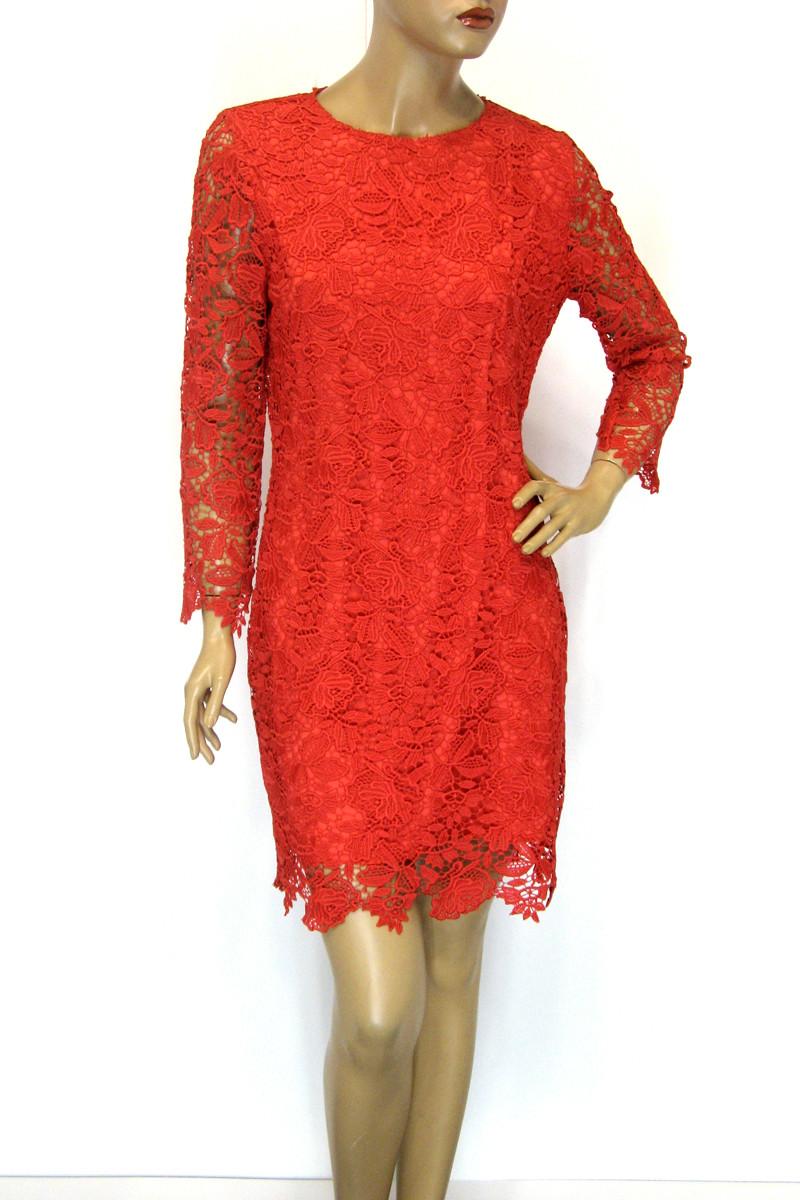 Жіноче нарядне плаття з мережева із знижкою