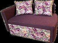 Диван детский Шпех 80см (Фелиция+фиолет). Диванчик со спальным местом 2 метра