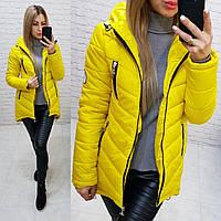 Куртка парка весна/осень, арт.300, цвет - желтый