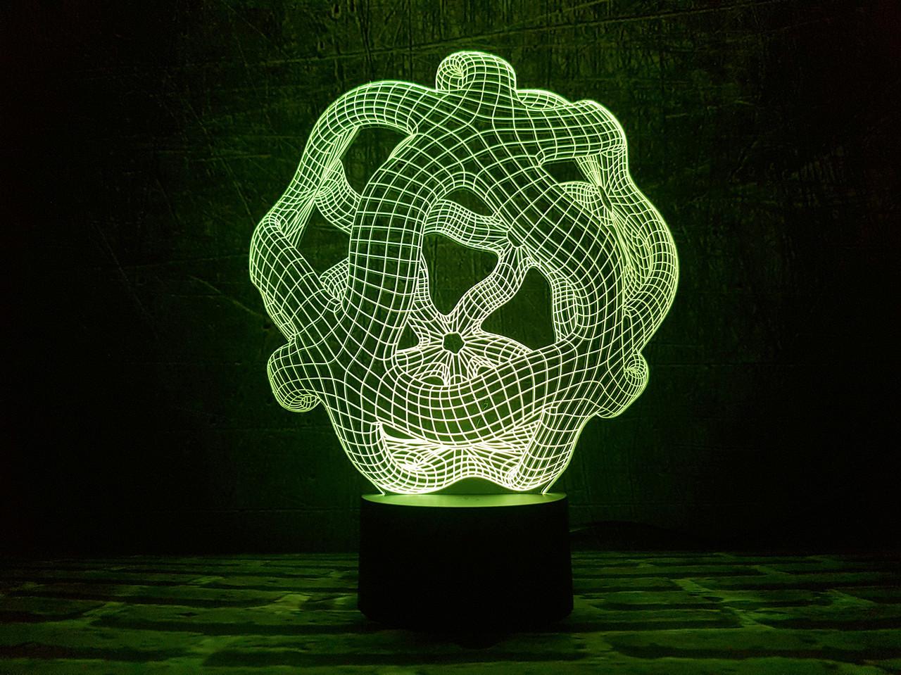 """Сменная пластина для 3D светильников """"Онис"""" 3DTOYSLAMP"""