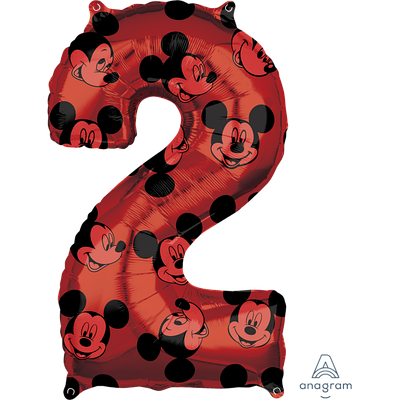 """А 26"""" Mickey #2 красный, в уп."""