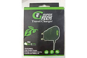 Зарядка 220v Super Green (MD-1446)