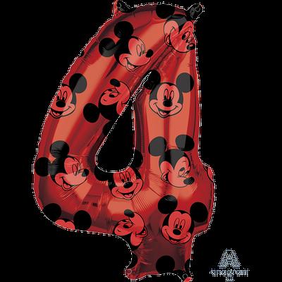 "А 26"" Mickey #4 красный"