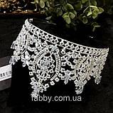 VIPs Розкішна висока корона з Діамантами ювелірними (цирконій), фото 5