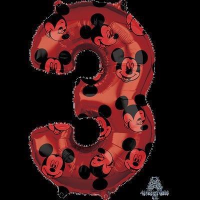 "А 26"" Mickey #3 красный"