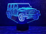 """Сменная пластина для 3D светильников """"Автомобиль 22"""" 3DTOYSLAMP, фото 2"""