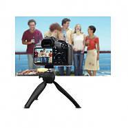 Штатив - ручка AccPro TM-01B black для смартфона, телефона, камеры, света, фото 4