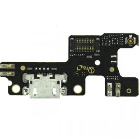 Нижняя плата Lenovo S60 с разьемом зарядки и микрофоном, фото 2