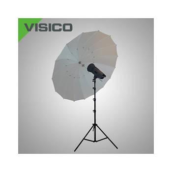 150см параболічний фотозонт Visico AU150-B білий просвітний