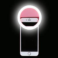 Светодиодное селфи кольцо Selfie Ring Light от батареек ААА (2 шт)