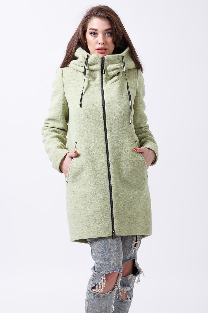 Пальто 2-444L Лайм
