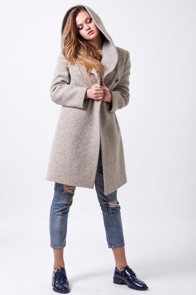 Пальто 2-498L Фисташковый