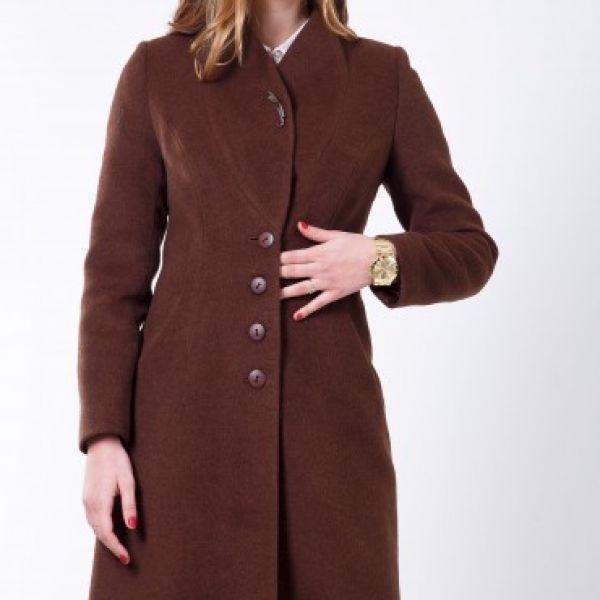 Пальто 2-483IT Шоколад