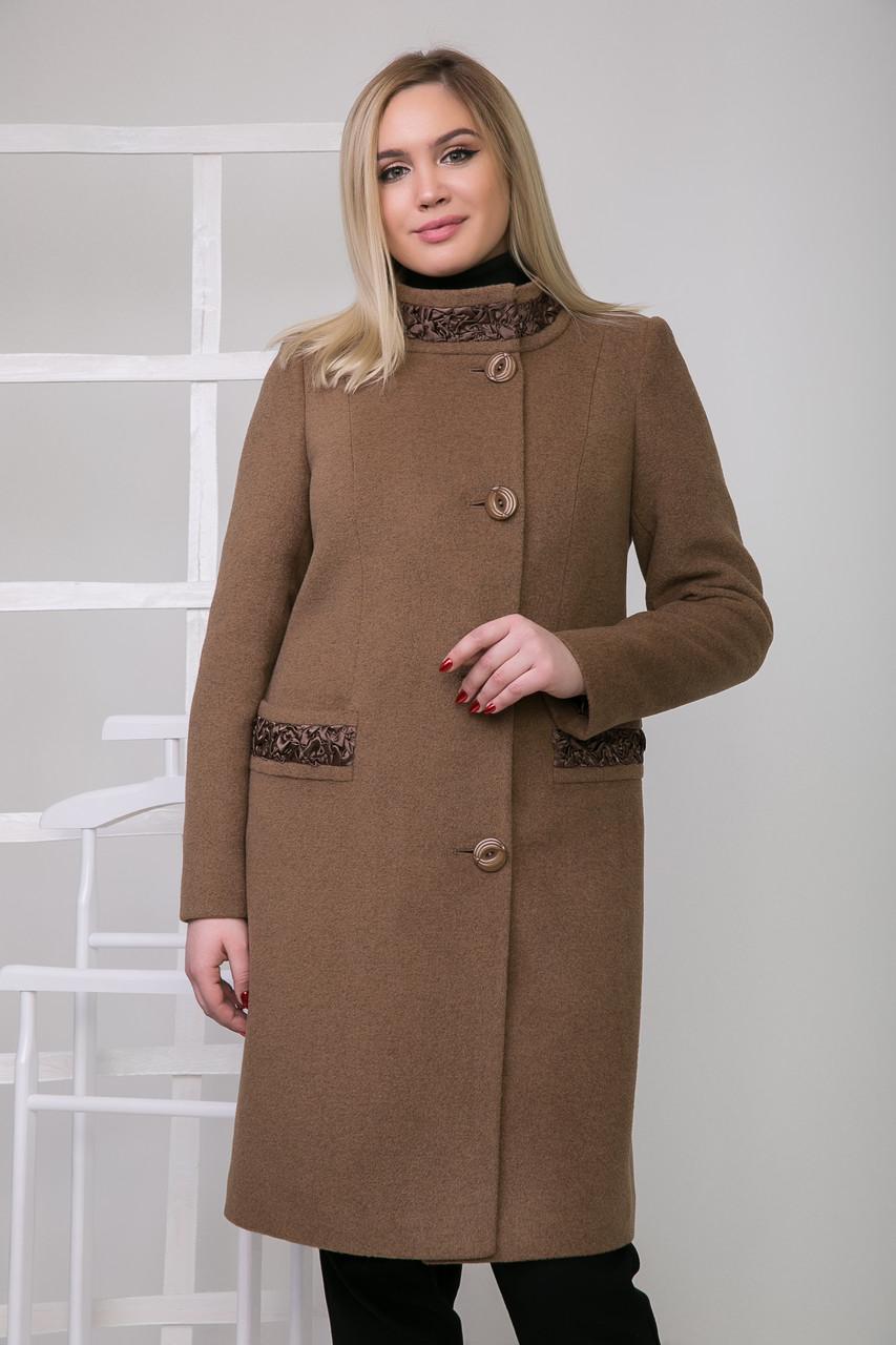 Пальто 2-492IT Молочный шоколад