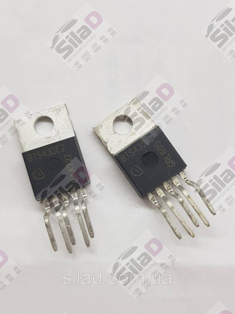 Транзистор BTS432E2 Infineon корпус TO220-5