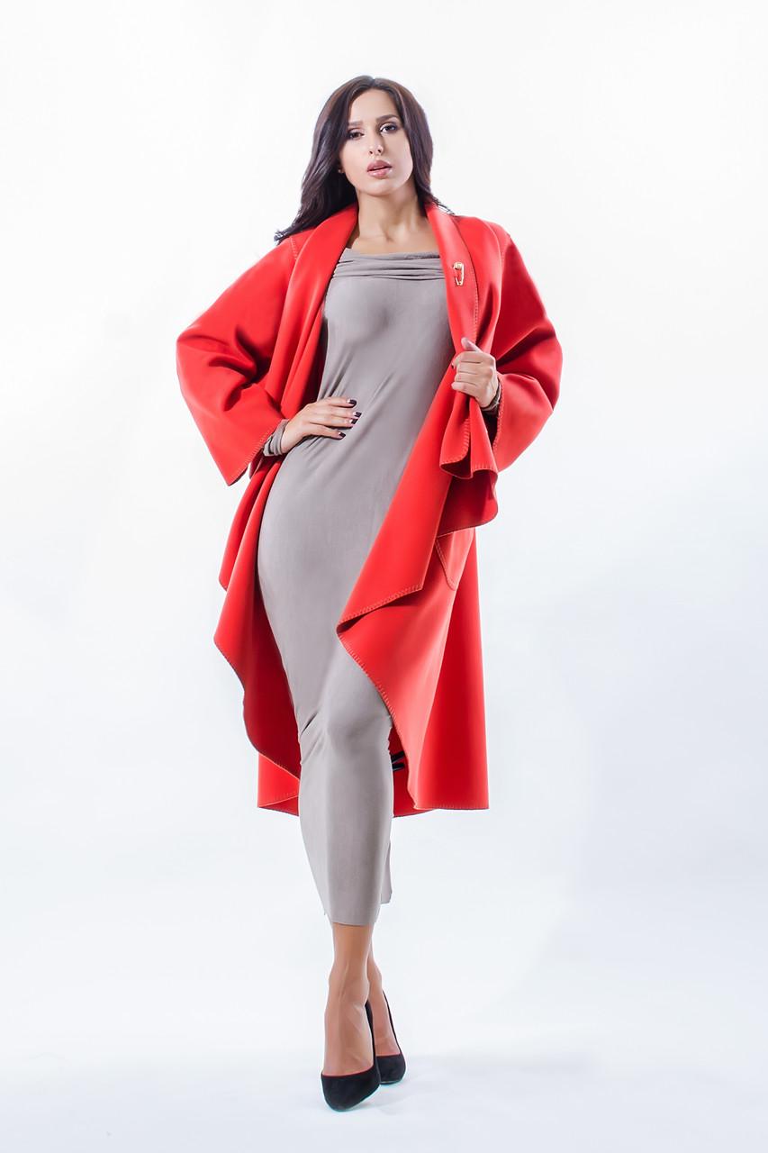 Пальто S-307 Червоное золото