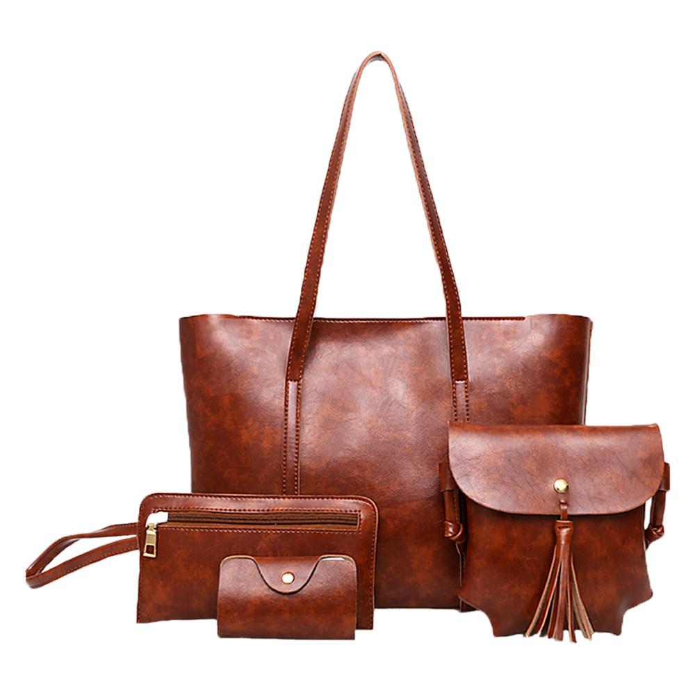 Отличный модный набор 4 в 1 стильных сумочек OA-1