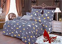 Комплект постельного белья семейныйс компаньоном S239 ТМ TAG постельное белье семейное