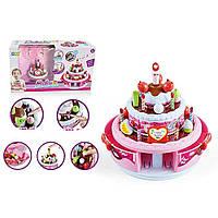 Игровой набор Продукты 666-9208 Dreamtoys праздничный торт