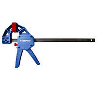 Струбцина автоматическая F-образная быстрозажимная Technics Master 150 мм 43-670