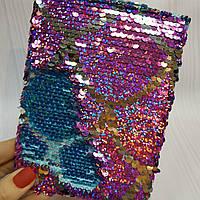 Блокнот с  пайетками А6, фото 1